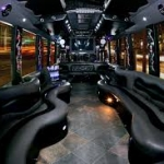 Limo bus Inside
