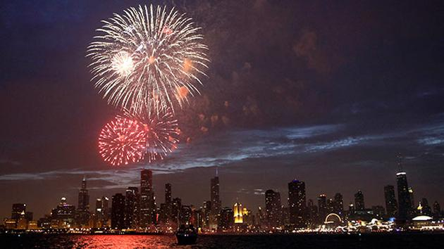 4th of July at Navy Pier