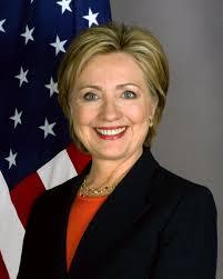 Hillary attending ALA