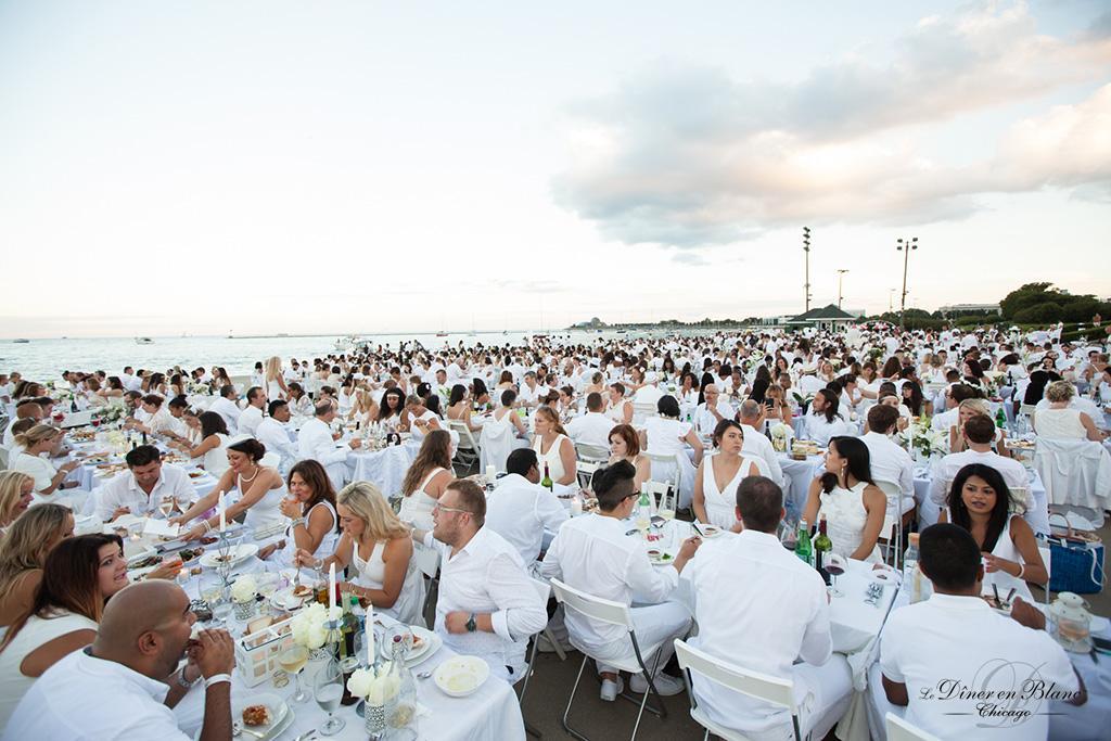 The White Dinner
