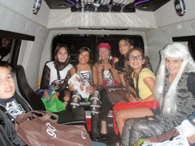 Car Service on Halloween
