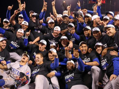 The Cubs win game 5